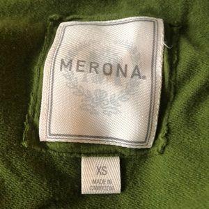 Merona Tops - Merona olive green long sleeve top